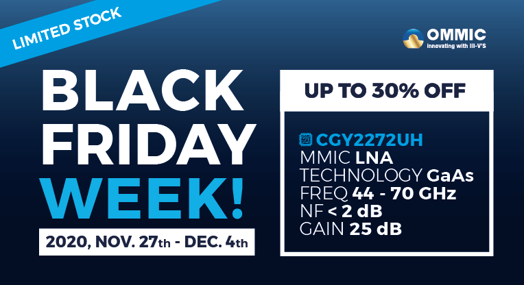 black friday week at OMMIC